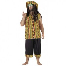 Costume Rasta Man Hippie