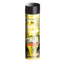 Artifice fumigène 1mn jaune
