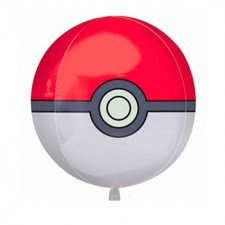 Ballon alu orbz pokeball